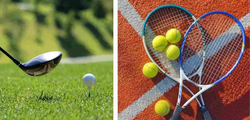 Golf- und Tennis Journal ms smash