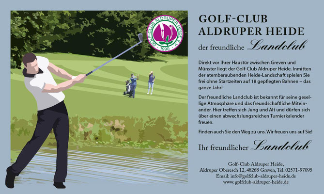 Anzeige Golf Club Aldruper Heide