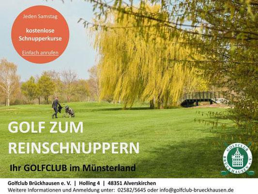 Anzeige Golfclub GC Brückhausen e.V.