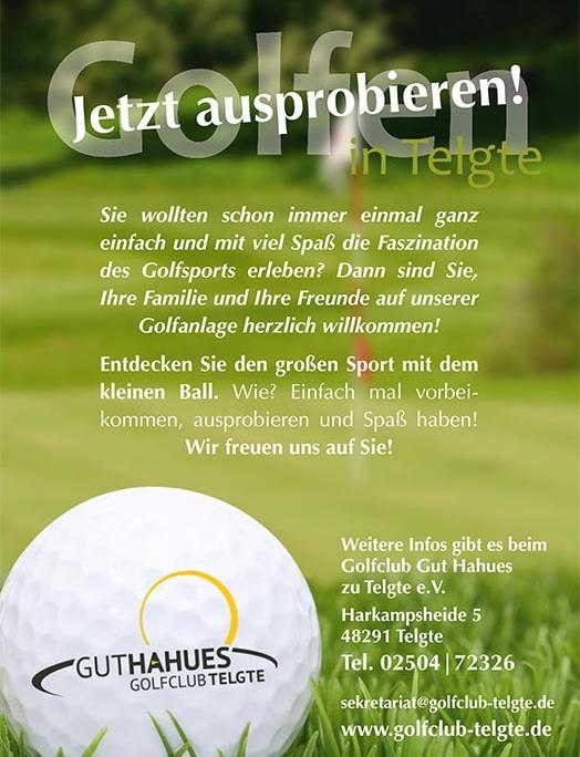 Anzeige GC Gut Hahnes Golfanlage