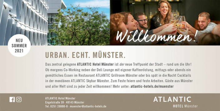 Anzeige Hotel Atlantic Münster