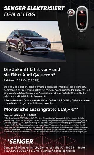 Anzeige Autohaus Senger Münster