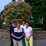 Schloss Miel DMGG-Turnier Teilnehmerinnen