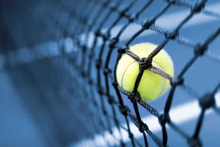 Tennis kontaktfreier Sport