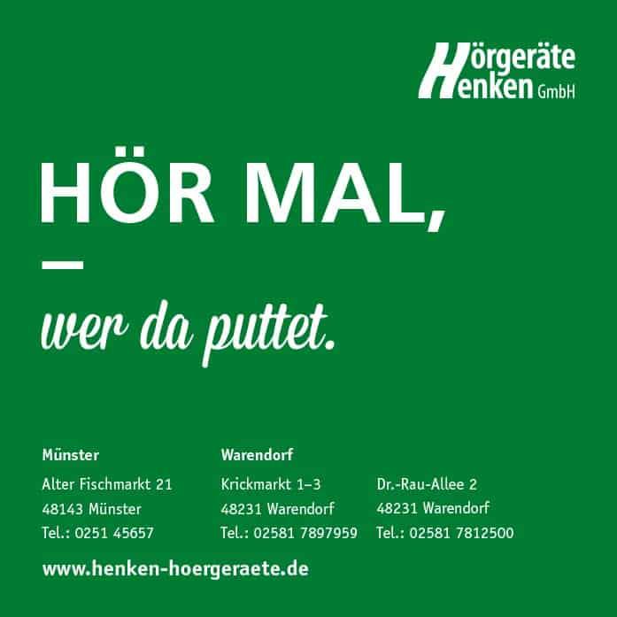 Anzeige Hörgeräte Henken GmbH
