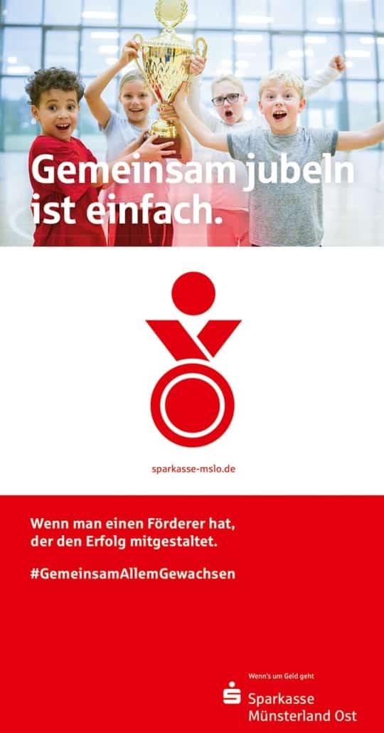 Anzeige Sparkasse münsterland