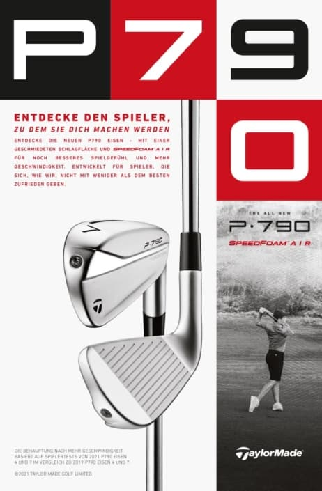 Taylormade Inserat ms-smash Golf-Ausstattung