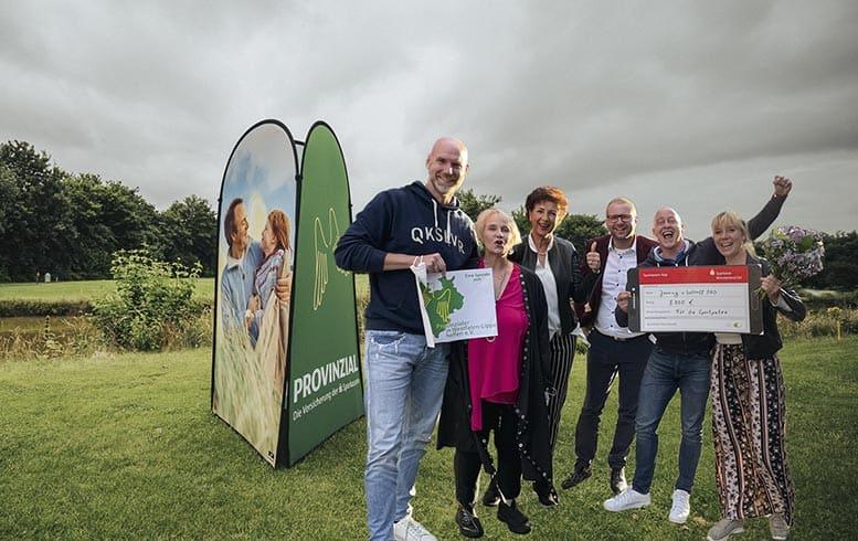 Große Spendensumme Provinzial Golfturnier zugunsten Münstarify