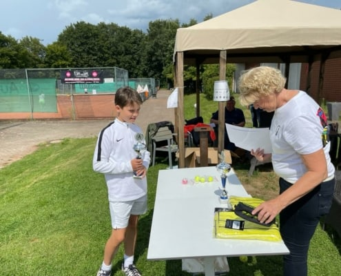 Ohne Orga geht nix - Stadtmeisterschaften Münster Jugend Cup