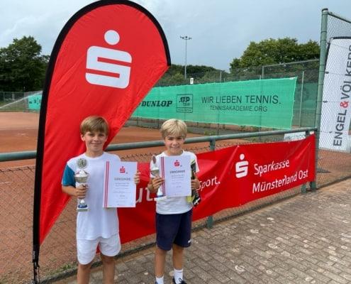 Jugend Sparkassen Cup 2021 - Organisator IG Tennis Münster