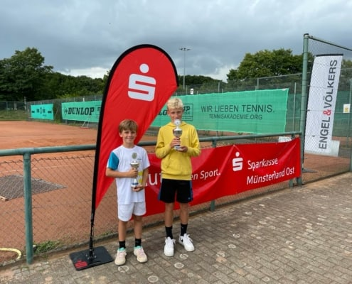 IG Tennis unterstützte beim Sparkassen Jugend Cup
