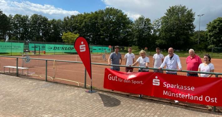 Orga-Team Stadtmeisterschaften Tennis Münster