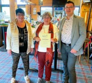 Gewinnerin 27. offene Hotelgolfwoche im Ferienhotel Stockhausen