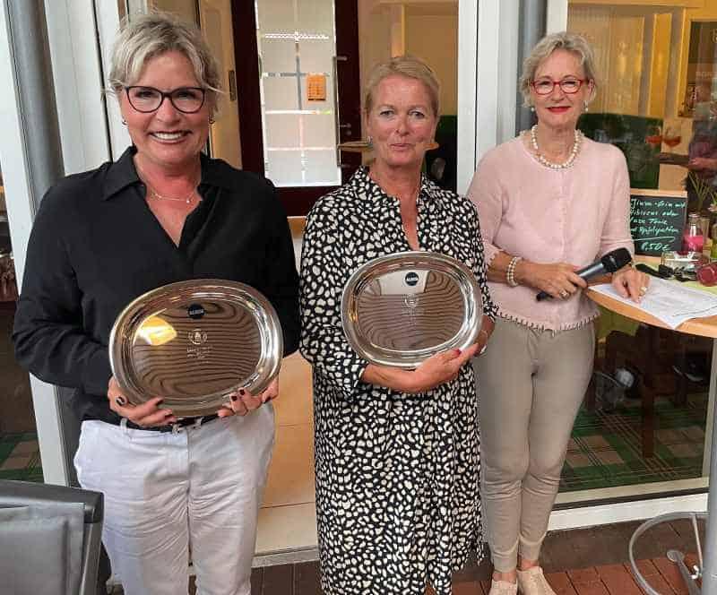 DamenVierer Wilkinghege von Westfalen Teilnehmerinnen