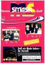 Titelbild ms-smash 2001 02 Golf und Tennis Journal
