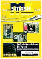 Titelbild ms-smash 2001 04 Golf tennis Journal