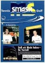 Titelbild ms-smash 2001 01 Tennis und Golf Journal