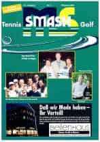 ms-smash Titelbild 2001 03 Tennis Golf Journal