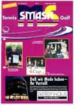 Titelbild ms-smash Ausgabe 2001 05 golf Tennis journal