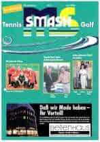 Titelbild Ausgabe 2004-3 Juni Tennis Magazin Golf