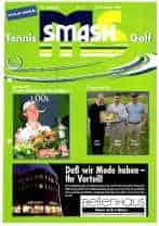 Titelbild ms-smash 2004 Dezember Tennis Golf Journal