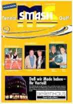 Titelbild ms-smash 2004 nr. 6 Tennis Golf Journal